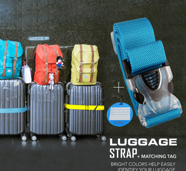 Luggage Strap and Tag